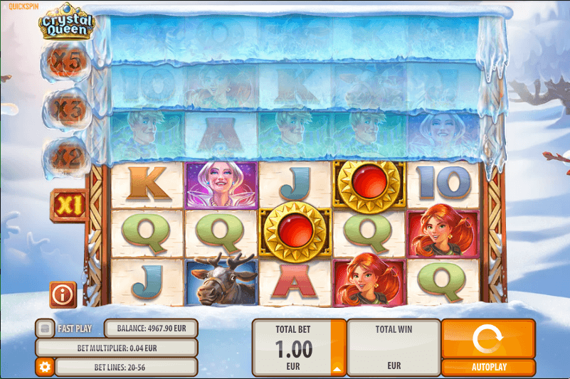 Spilleautomaten Amazon Queen – gratis på nett
