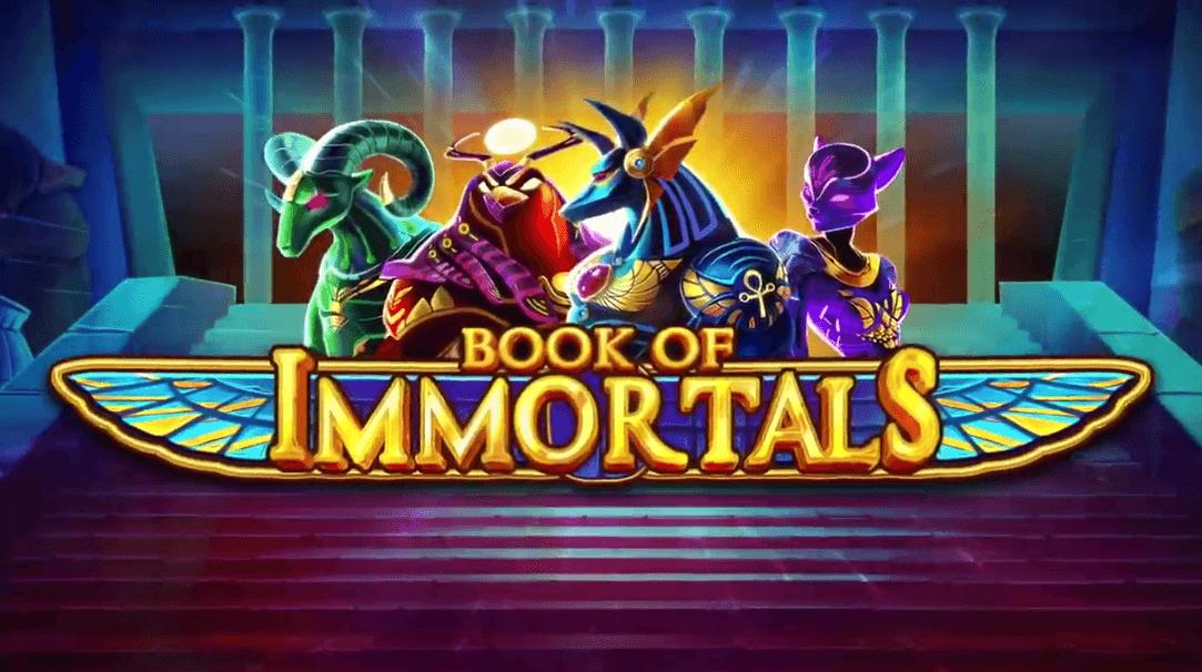Book of Immortals spilleautomat