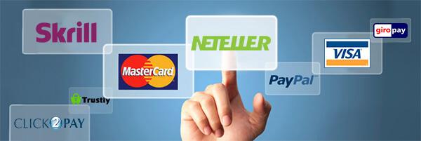 innskuddsmetoder på nye nettcasinoer