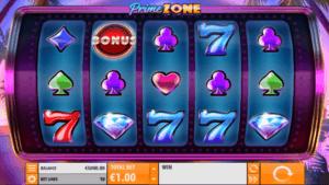 Førpremiere på Prime Zone spilleautomat